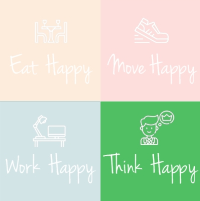Think Happy Be Content