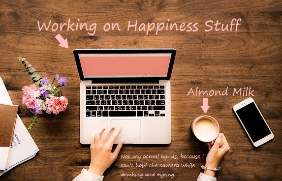 All About the HappinessMe website for health and wellness